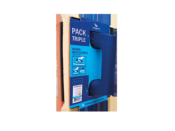 Pack Talochas Peygran: Esponja Alta absorción, Máxima limpieza y Abrasión