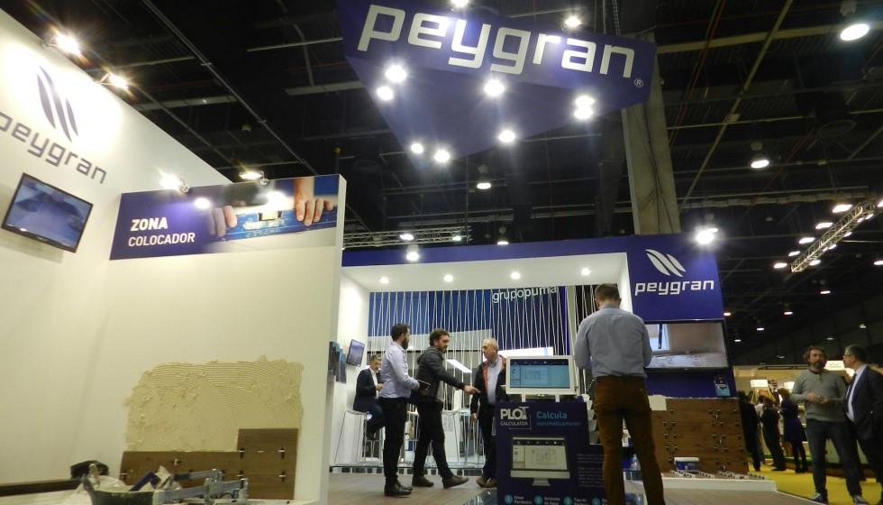 Peygran presentó en Cevisama 2017 sus nuevas soluciones técnicas para el sector colocador