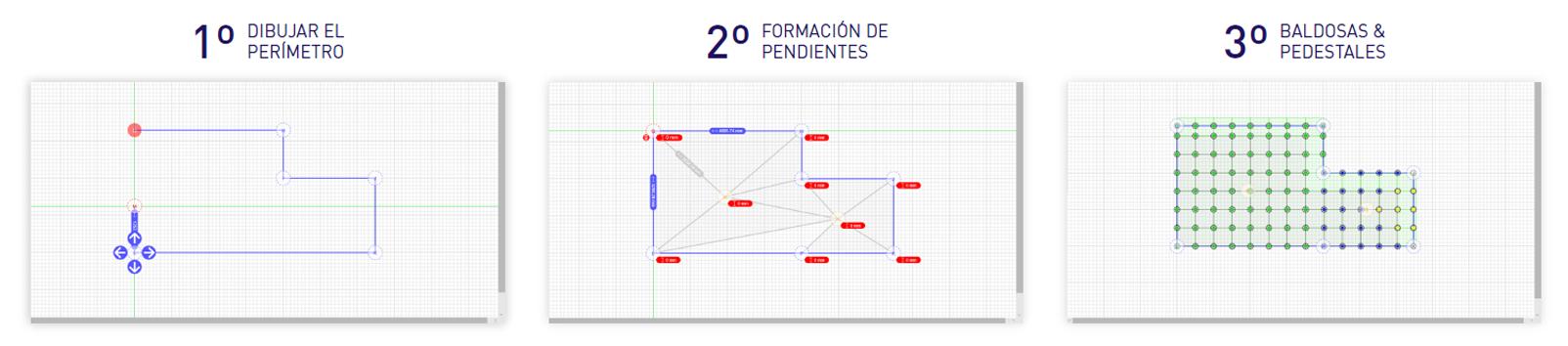 Pasos utilización programa Calculator Peygran calculador de plots y grapas