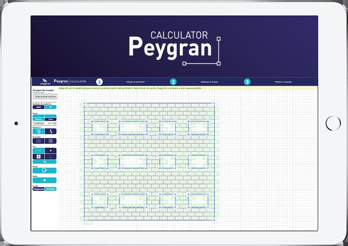 Calculator Peygran Plano Fachada Aplacada